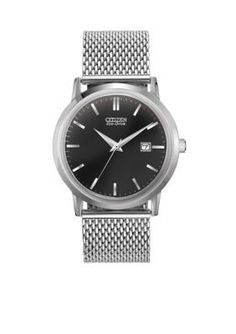 Drive from Citizen Eco-Drive  Mens Stainless Steel Mesh Watch