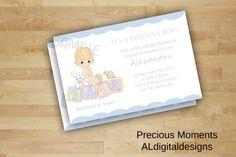 Precious Moments Invitation Precious Moments by ALdigitaldesigns