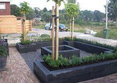Blokken in je tuin zorgen voor meer ruimte. André meilink