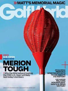 I love the latest @GolfWorldUS cover showcasing the Merion wicker basket #usopen