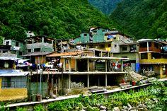 Aguas Calientes Shanty Town