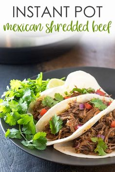 Instant Pot Mexican Shredded Beef | The Blond Cook