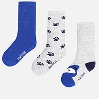 Tres calcetines niño
