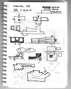 Parti diagrams from a recent crit by the 3rd year students at a school of architecture