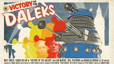Victory of the DALEKS wallpaper via bbc.co.uk/doctorwho