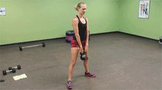 kettlebell squat catch and release