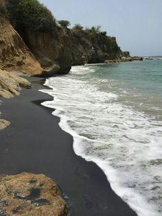 Black Sand Beach ( Playa Negra ) Vieques, Puerto Rico
