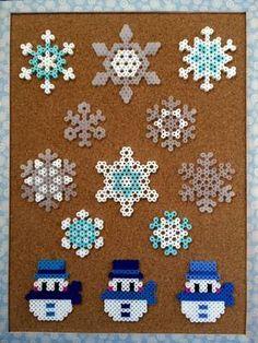 201601yuki Perler Bead Disney, Perler Bead Art, Hamma Beads Ideas, Easy Perler Bead Patterns, Fuse Beads, Pearler Beads, Pearl Beads Pattern, Christmas Perler Beads, Hama Beads Design