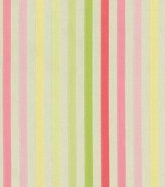 Waverly Upholstery Fabric-Ribbon Ceremony Watermelon