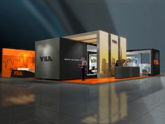 """Bring the modern edge to your next tradeshow"" - TriadCreativeGroup.com"