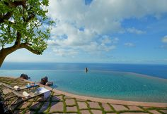 Once a convent, the Monastero Santa Rosa is located between Positano and Amalfi — a stretch of coastline with some of the most beautiful views in the world. Source: Monastero