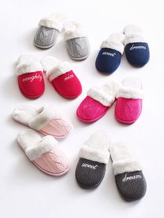 That whole slip-into-something-more-comfortable thing just got REAL with faux fur.   Victoria's Secret The Cozy Slipper