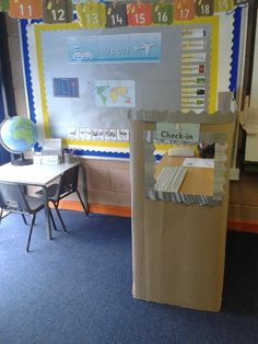Airport Role-Play Area classroom display photo - Photo gallery - SparkleBox