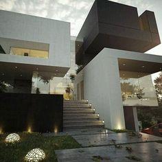 fachadas modernas con porcelanato - Buscar con Google