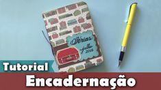 Como fazer um caderno diário de viagem | Encadernação | Sketchbook | PAP...