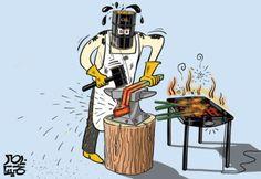 كاريكاتير جريدة الحياة (السعودية)  يوم الثلاثاء 16 ديسمبر 2014  ComicArabia.com  #كاريكاتير