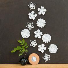 wall flower decor - Google 検索