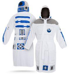 Bata de baño de R2-D2