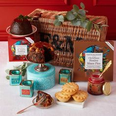 The Gluten-Free Christmas Hamper - Fortnum & Mason Luxury Hampers, Christmas Hamper, Fortnum And Mason, Mince Pies, Gift Baskets, Wines, Holiday Gifts, Unique Gifts, Gluten Free