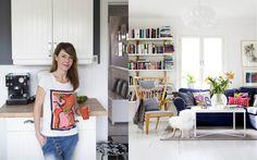 """Härligt hemma   Konstnären Karolina Palmér: """"Vi behöver färg omkring oss"""""""