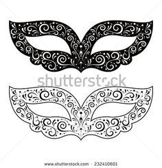 Free Printable Masquerade Mask Templates  Crafts
