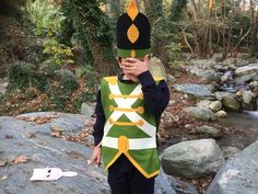 40d36aeb7b7 Nutcracker costume or Tin Soldier costume comes with its tunic typed costume,  with aplique and