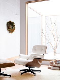 Topping wish lists for 58 years. Eames Lounge & Ottoman | Designed by Charles & Ray Eames