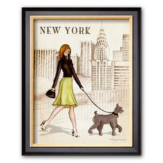 Art.com New York Framed Art Print By Andrea Laliberte #Kohls #home #decor