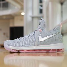 d80d249ef724 Kevin Durant s breaking out the Nike KD 9 tonight in a huge Game 3 against  the