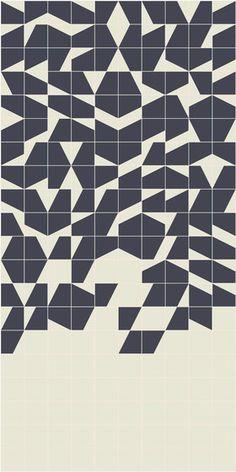 Puzzle Schema 10 edge by Ceramiche Mutina | Floor tiles