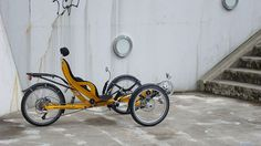 Tripod recumbent bike on ID Magazine
