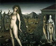 The Call of the Night  Paul Delvaux