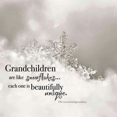 """Grandchildren are the crown of grandparents..."" Proverbs 17:6"