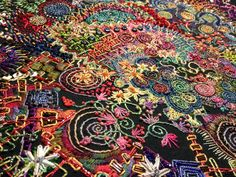 ♒ Enchanting Embroidery ♒ embroidered art by Eleanor Chambers   Escape from the House of Perfection