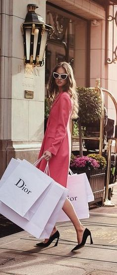 Shopping in Paris #coat #sunglasses and #shoes by @dior