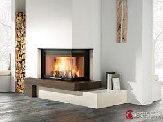 Logico - Seminee moderne de colt | Exclusiv Design - Apa&Foc