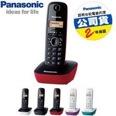 $1190/7net-Panasonic國際牌DECT數位無線電話KX-TG1611TW 送3C拭鏡布、無線電話、家用電話/傳真機、生活家電