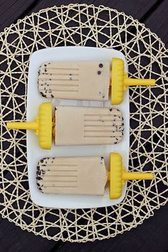 Vegan Chocolate Chip Cookie Dough Popsicles - Gluten-free + Refined Sugar-Free by Tasty Yummies
