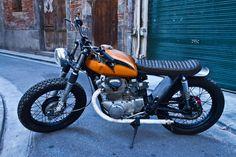 Honda CB 350 Scrambler By Dirty Seven Motorcycles