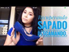 DIY Recuperando Sapato descamando. - YouTube
