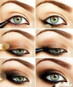 Smokey edge eye tutorial