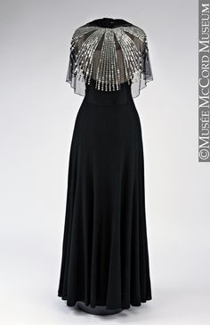 Dress and cape Jeanne Lanvin (attribué à / attributed to) About 1934, 20th century