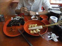 장전동맛집 부대꼬마김밥에서 김떡순+오뎅 조합의 모듬을 착한가격에 맛봤어요~