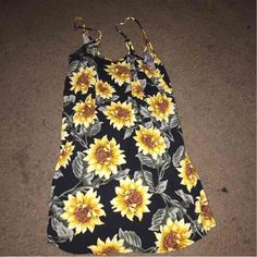 For Sale: Sunflower Dress for $15