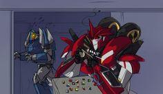 Image result for knockout transformers prime