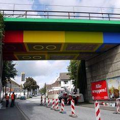 Un vrai pont tout en LEGO !