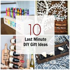 10 Last Minute DIY Wood Gifts that you Can Make | Ana White