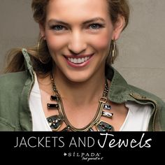 Transition your wardrobe from summer to fall - 3 tips for layering jackets and jewels! #Silpada #WomensFashion