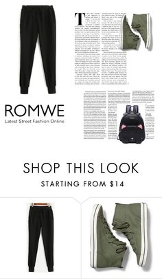 """romwe"" by zoliy ❤ liked on Polyvore featuring Keds"