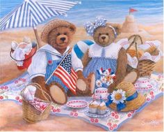 teddybär. By Susan Rios.